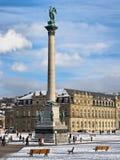 Stadtzentrum von Stuttgart Stockfotografie