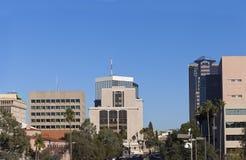 Stadtzentrum von Tucson, AZ Stockbild