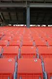 Staduim seating. Stadium seating Royalty Free Stock Photo