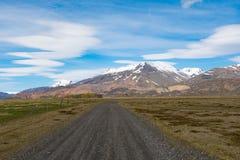 Stafafellsfjoll góry w wschodnim Iceland Fotografia Stock