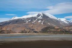 Stafafellsfjoll góry w wschodnim Iceland Fotografia Royalty Free