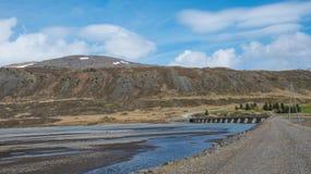 Stafafellsfjoll góry w wschodnim Iceland Zdjęcia Royalty Free