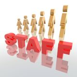 Staff Royalty Free Stock Photos
