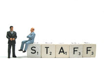 Staff Stock Photo