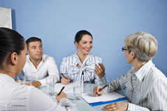 Staff business meeting Royalty Free Stock Images