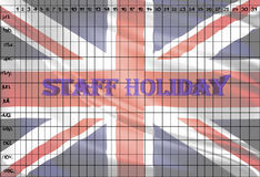STAFF HOLIDAY Stock Image