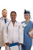 Staff ospedaliero fotografia stock libera da diritti