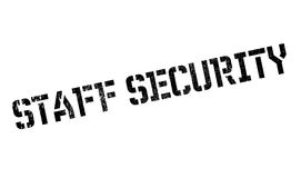 Staff Security rubber stamp Royalty Free Stock Photo