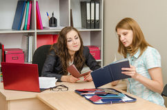 Staff specialist studies diplomas candidate for the position Stock Images