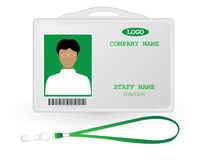 Staff tag sign Royalty Free Stock Photos