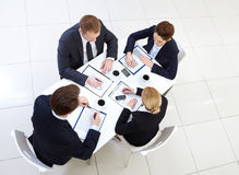 Staff working Royalty Free Stock Photography