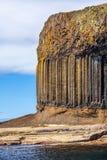 Staffa, een Eiland Binnenhebrides in Argyll en Bute, Schotland Royalty-vrije Stock Foto's