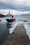 Staffa rejsu łódź Fotografia Stock