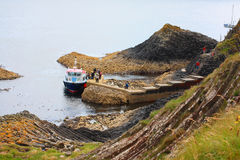 Staffa, Scozia Fotografie Stock