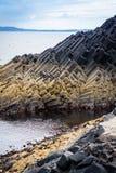Staffa, un'isola del Hebrides interno in Argyll e Bute, Scozia Fotografia Stock Libera da Diritti
