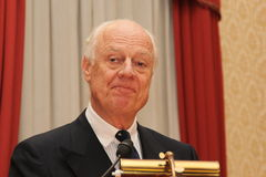 Staffan De Mistura Royalty Free Stock Photography