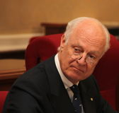 Staffan De Mistura Royalty Free Stock Photos