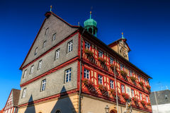 Staffelstein City Hall Royalty Free Stock Image