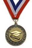 Staffelungs-Medaille Lizenzfreies Stockfoto