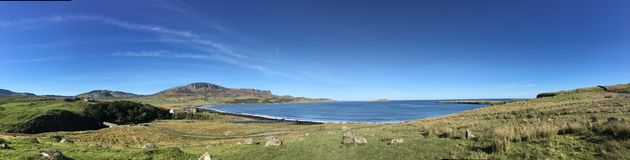 Staffin Bay, Isle Of Skye Royalty Free Stock Images