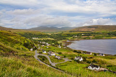 The A855 Staffin to Uig Road Royalty Free Stock Image