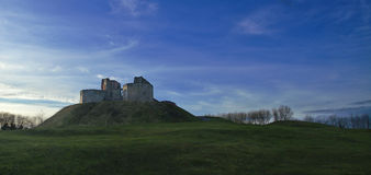 Stafford Castle in Winter Stock Photography
