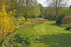 A Staffordshire Garden Stock Images