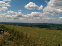 Staffordshire Moors Royalty Free Stock Photography