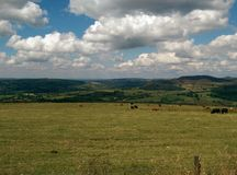 Staffordshire Moors. View Royalty Free Stock Photos
