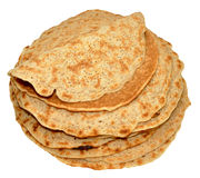 Staffordshire Oatcakes Royalty Free Stock Photography