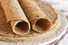 Staffordshire Oatcakes Royalty Free Stock Photos