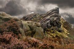 Staffordshire Peak District Stock Image