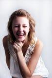 stag lyckligt barn för flicka Royaltyfria Bilder