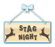Stag Night Royalty Free Stock Photo