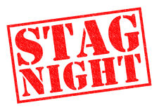 STAG NIGHT Stock Images