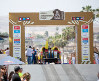 Stage 1 Rally Dakar 2013 Stock Image