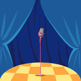 Stage royalty free illustration
