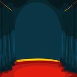 Stage vector illustration