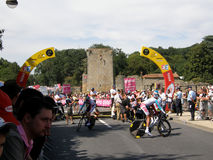 Stage 2 Start Tour de France Stock Photo