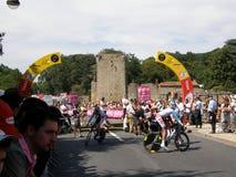 Stage 2 Start Tour de France stock photo