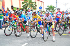 Stage 6 Winners  at LTDL Stage 7 Starting Point Royalty Free Stock Photo