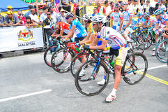 Stage 6 Winners  at LTDL Stage 7 Starting Point Stock Photos
