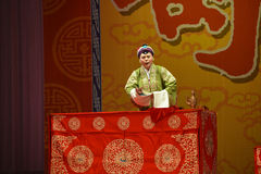"""The Stage of Appointing Commander- Beijing Opera"""" Women Generals of Yang Family"""" Royalty Free Stock Images"""