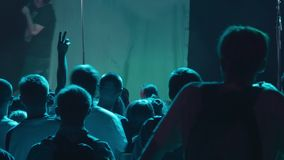 Stage and audience stock footage