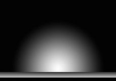 Stage background. A dark stage background with a spotlight Stock Image