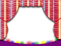 Stage Background Royalty Free Stock Image
