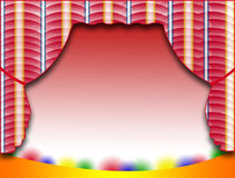 Stage Background Stock Image