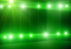 Stage background. Background image of colorful stage lights and beams stock image