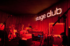 Stage Club, Hamburg, 20.10.2008 Royalty Free Stock Photo