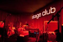 Stage Club, Hamburg, 20.10.2008 Royalty Free Stock Photo